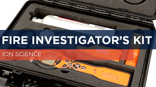 Fire Investigator's Kit