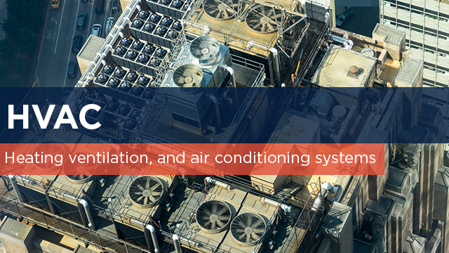 Heating,ventilation and air conditioning (HVAC)