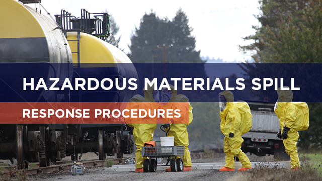 Hazardous Materials Spill Response Procedures