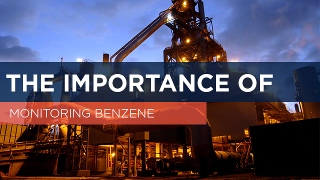The importance of monitoring benzene