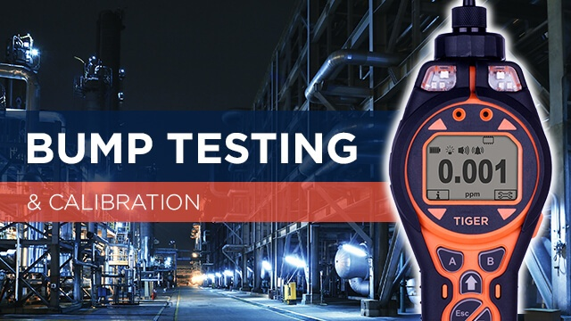 How to bump test and calibrate gas detection equipment
