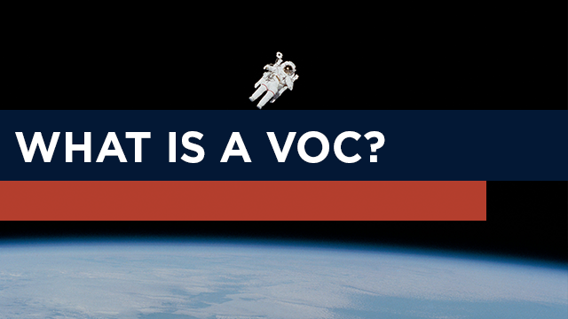 What is a volatile organic compound (VOC)?
